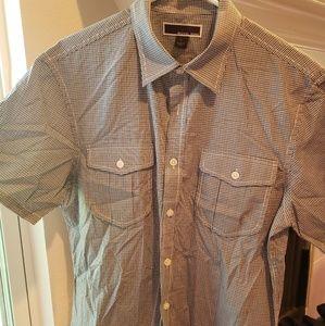 Michael Kors Men's Short-sleeved Button-Down EUC